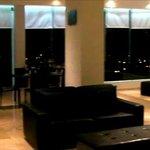Top floor relaxing sunset lounge