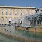 Palazzo Ducale, facciata su piazza De Ferrari