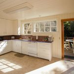 Family vacation rental home kitchen