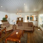Family vacation rental home living room