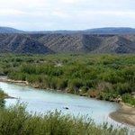 Rio Grande from above