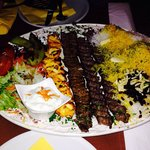 Platter of Persian kebabs!