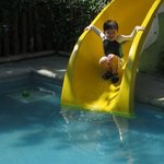 Pool/slide in Kids Club