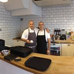 Chef Stefano & The Gaffer Al Muccio