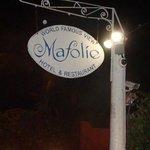 Mafolie sign at night