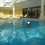 Une piscine intérieure : un régal