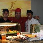 The Koi sushi staff