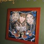 wall art in the werewolf room