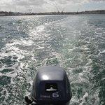 Boat's wake