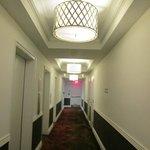 Even the hallway is very nice.