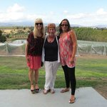 Marcia (Centre) of Valleybrook Wine Tours