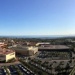 View from the 20th floor Club, the Pacific Ocean and Fashion Island!