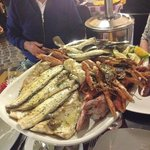 the 'second appetiser' apparently. They charged 250 euros!! I bet the fish was going off more li