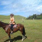 Subiendo en caballo al Terevaka
