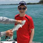 Shane Catching a fish!