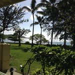 View from cottage lanai