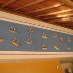 Painel Decorativo no Restaurante