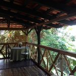 Tree House room porch