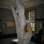 one of many Getty Villa sculpture's