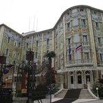 Hotel Ungaria Ausonia, na Grande Avenida Santa Maria Elisabetta