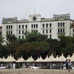 Hotel de Bains visto da Praia do Lido