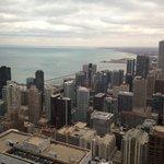View of Chicago's coastline