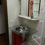 Plenty of storage space for toiletries