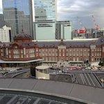 7階からの東京駅