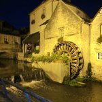 A night walk in Bayeux from the hotel