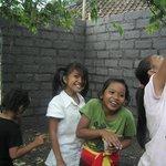 村の子供達