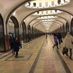Beautiful metro stations