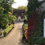 Entrance to Auberge du Bon Laboureur