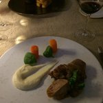 Dinner at Auberge du Bon Laboureur