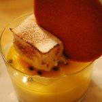 Irresistible lemon dessert