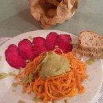 spaghetti di carote