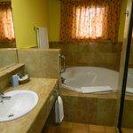 Ванная комната в номере (туалет - отдельная комната)