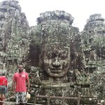 In Bayon, Temple of Faces