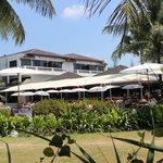 Les jardins côté plage