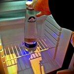 Kühlschrank am Zimmer inkl. Graitswasser