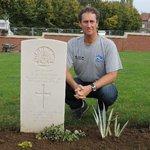 In memory of Pvt A J Clingan
