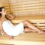 Relax in our Sauna World