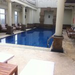 Heated pool on the top floor