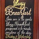 Lazy Breakfast untill 5