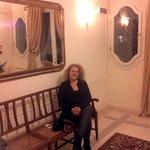 interno dell'hotel villa fiorita