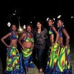 Mauritian dancers  in calodyne
