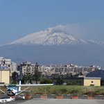 Mount Etna from Catania Airport