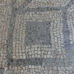Mosaic exhibit