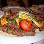 Delicious mixed grill