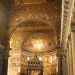 shot of altar