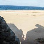 ocean/ruins shadow